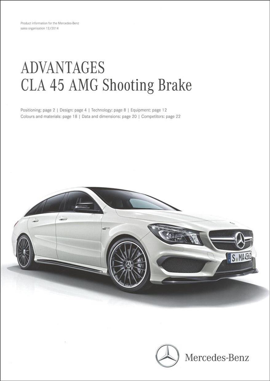 Advantages Cla 45 Amg Shooting Brake Advantages Cla 45