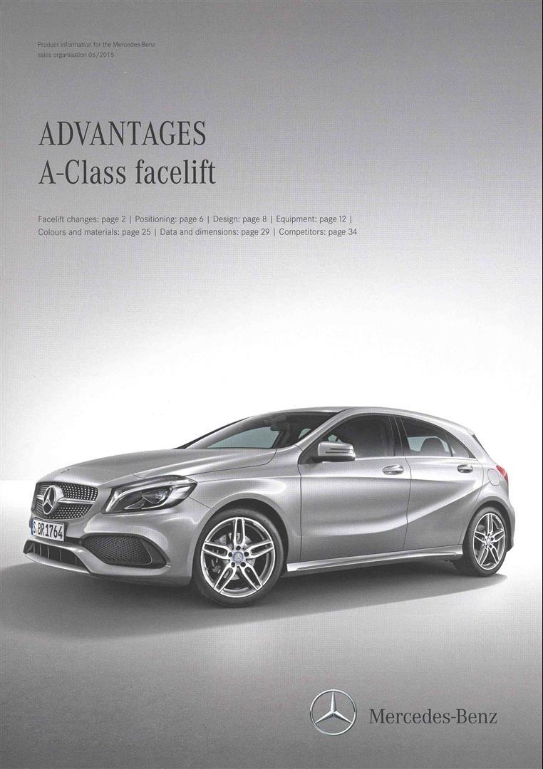 Advantages A Class Facelift Advantages A Class Facelift
